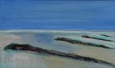 peinture sur bois 30x50cm